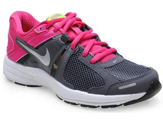 Tênis Feminino Nike 580438-016 Dart 10 Msl Chumbo/pink - Tamanho Médio