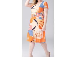 Vestido Feminino Alpelo 50500238 Areia - Tamanho Médio