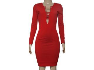 Vestido Feminino Coca-cola Clothing 443201865 Vermelho - Tamanho Médio