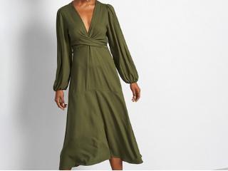 Vestido Feminino Colcci 440110778 39011 Verde - Tamanho Médio