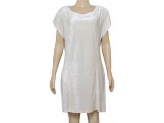 Vestido Feminino Dopping 018063031 Off White - Tamanho Médio