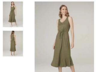 Vestido Feminino Dzarm 6q43 Eacen Verde - Tamanho Médio