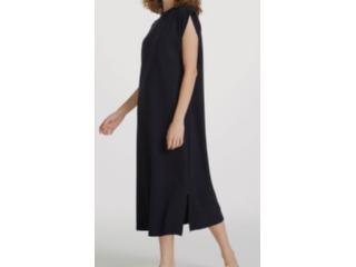 Vestido Feminino Hering 0b67 N10en Preto - Tamanho Médio