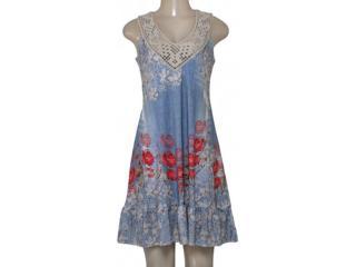 Vestido Feminino Intuição 152594 1971 Estampado Floral - Tamanho Médio