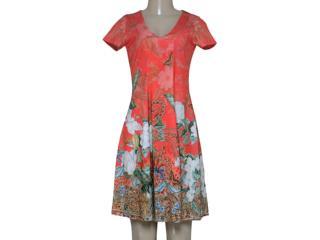 Vestido Feminino Intuição 152640 1946 Laranja - Tamanho Médio