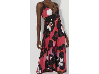 Vestido Feminino Lafort E22v468 Amor Perfeito Rosa - Tamanho Médio