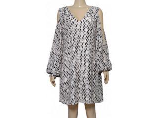 Vestido Feminino Lafort E17l247 Estampado Areia/preto - Tamanho Médio