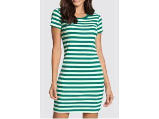 Vestido Feminino Lunender 46575 Verde - Tamanho Médio