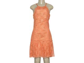 Vestido Feminino Moikana 11032 Laranja Queimado - Tamanho Médio