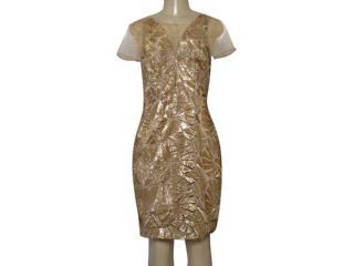 Vestido Feminino Morena Rosa 105323 Dourado - Tamanho Médio