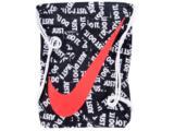 Porta Chuteira Masculina Nike Ba5262-023 ya Graphic Gymsack Preto/branco