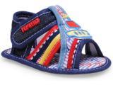 Sandália Masc Infantil Pepkeno F94 Cor Jeans
