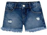 Short Fem Infantil Puc U5rn 1asn Jeans
