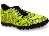 Tênis Masculino Nike 768917-770 Bravata tf  Limão/preto