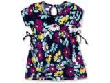Vestido Fem Infantil Hering Kids 5a7t 1den Marinho Floral